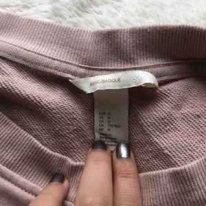GAP Sweaters - LIGHT PINK GAP SWEATER
